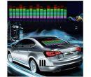 Светодиодный эквалайзер на заднее стекло автомобиля (70 x 16см)