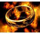 Кольцо из властелина колец с лазерной гравировкой