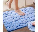 Нескользящий пенный коврик для ванной (40x60 см)