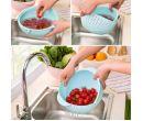 Миска-дуршлаг для промывки круп, фруктов и овощей