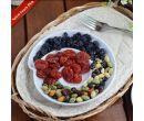 Керамическая спиральная тарелка-улитка для разных видов закусок