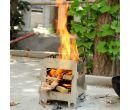 Складная дровяная печь для приготовления пищи