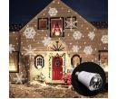 Рождественская светодиодная лампа E27 с проекцией снежинок