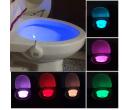 Светодиодная подсветка для унитаза с датчиком движения (8-цветов)