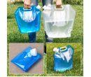 Пластиковый складной мешок для воды (5л-10л)