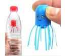 Интеликутальная плавающая медуза в бутылке