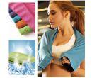 Охлаждающее мягкое полотенце для спорта