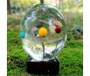 Хрустальный шар с солнечной системой