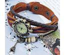 Женские кварцевые часы-браслет с эйфелевой башней