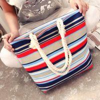 Вместительная холщовая сумка