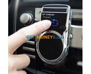 Автомобильная Bluetooth-гарнитура громкой связи на солнечной батарее