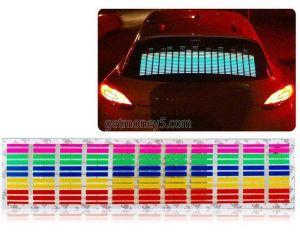 Светодиодный эквалайзер на заднее стекло автомобиля