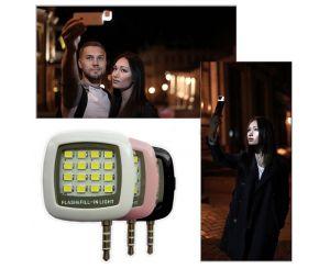 Внешняя LED-вспышка RK05 для iOS и Android