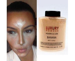 Банановая пудра для лица LUXURY (42г)