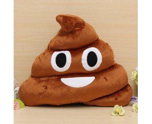 Мягкая креативная подушка какашка (Emoji Смайлики)