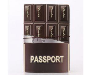Обложка для паспорта Chocolate