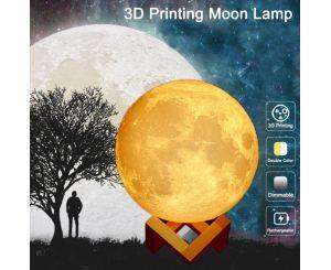 Настольная 3D лампа в виде «Луны»