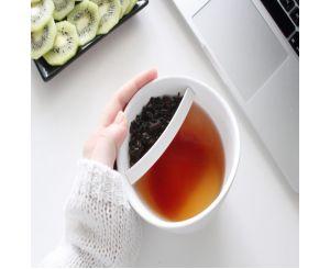 Чашка со специальным ситечком для чая