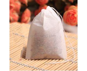 Пустые чайные фильтры-пакетики для заварки чая (100 шт.)