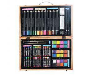 Творческий набор для рисования в кейсе 80 предметов