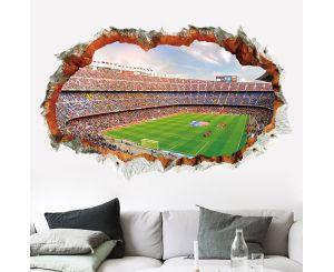 Декоративная 3D наклейка «Футбольный стадион»
