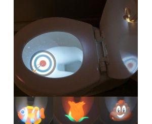 Подсветка проектор для унитаза