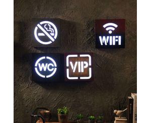 Креативная светодиодная лампа для дома и кафе