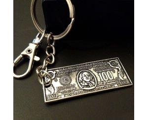 Брелок для ключей 100 американских долларов