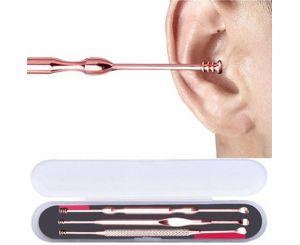 Набор спиральных палочек для чистки ушей (3 шт.)