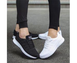 Женские повседневные прогулочные кроссовки на плоской подошве