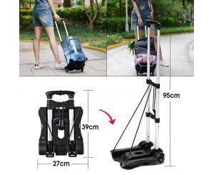 Складная тележка для покупок и багажа