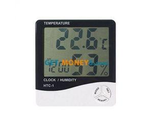 3 в 1 Термометр, Гигрометр, Часы