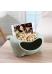 Тарелка для семечек и орехов с подставкой для телефона