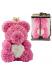 Цветочный мишка из роз Teddy Bear (38 см)