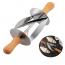 Скалка-нож для приготовления круассанов