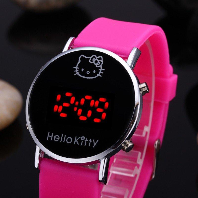 bdee5a54 Наручные женские часы Hello Kitty Очень хорошего качества, удобный мягкий  ремешок. Часы очень стильно смотрятся на руке. Хорошо подойдут в качестве  подарка.